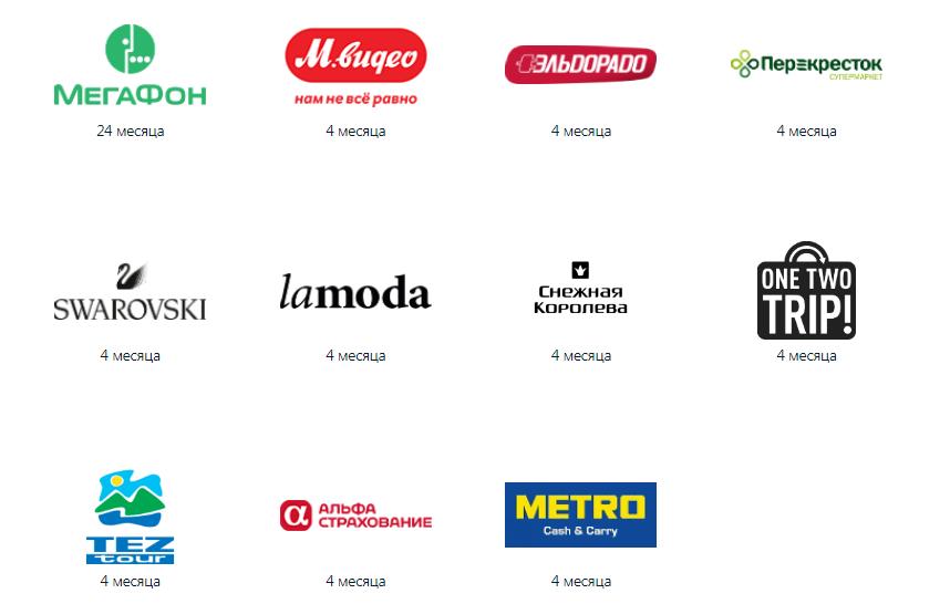 Магазины-партнеры карты рассрочки Альфа-Банка